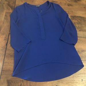 Express Zip Front Blouse